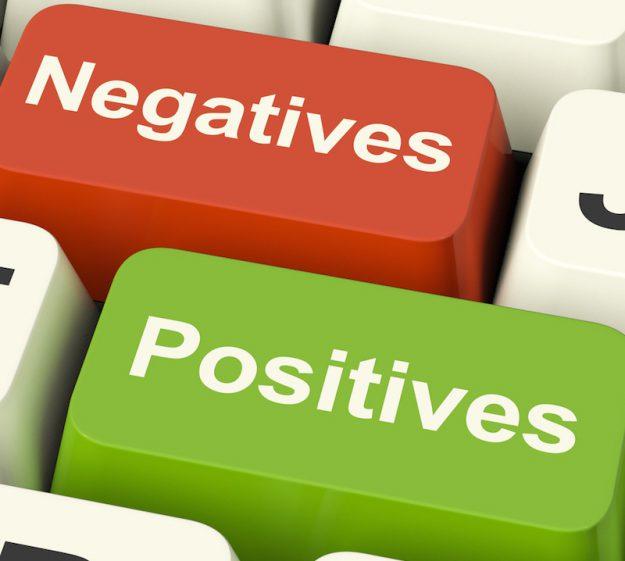 Положительные и отрицательные эмоции